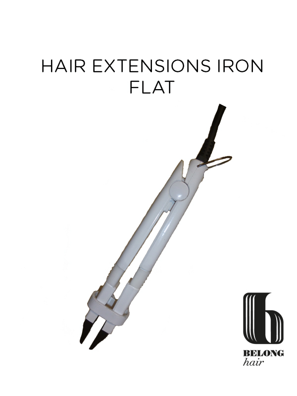 hair-extension-iron-flat